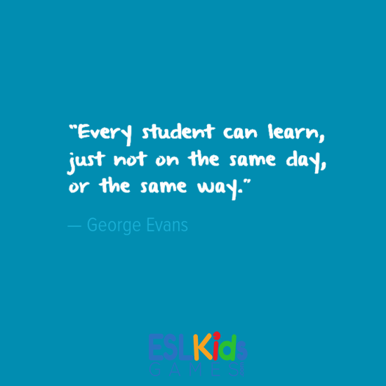 Education quotes ESLKidsGames.com