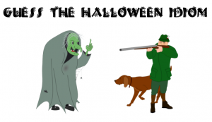 Guess the Halloween Idiom ESL Halloween Activity for teens