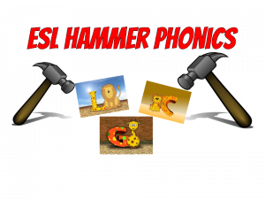 ESL Game Hammer Phonics