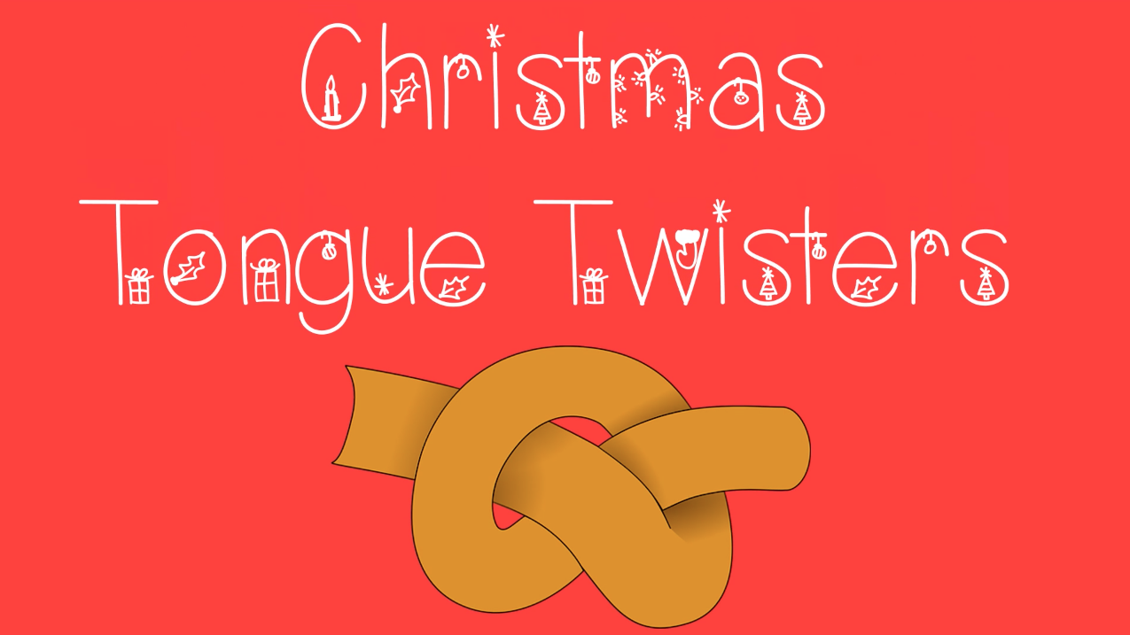 ESL Christmas Game Tongue Twisters