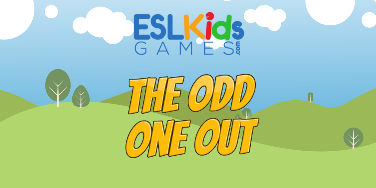 ESL Odd One Out online Game Movers Cambridge