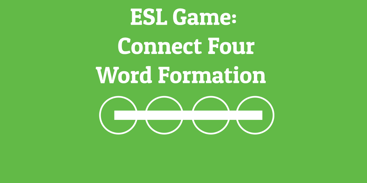 ESL Game_ Connect Four Word Formation
