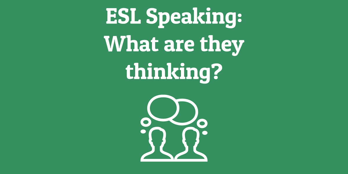 ESL Game: What are they thinking?