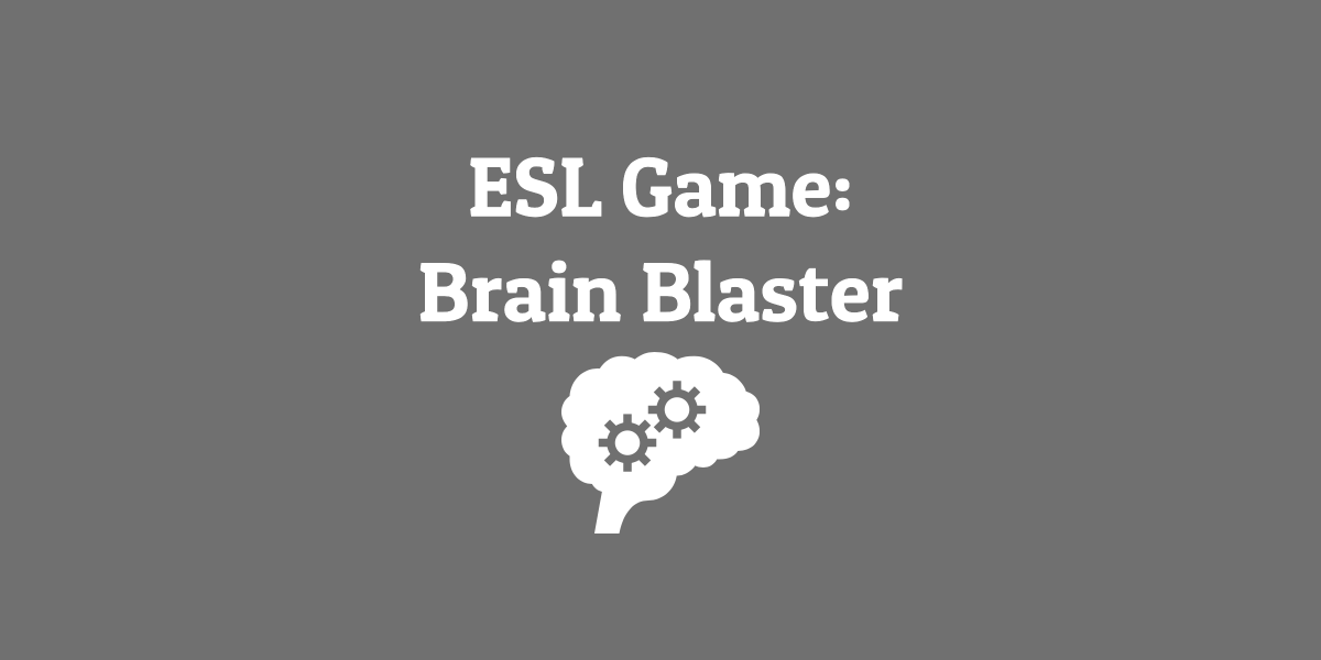 ESL Game_ Brain Blaster