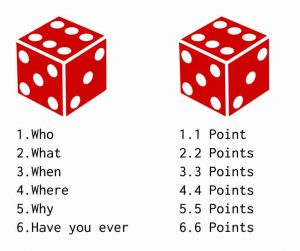 ESL Dice Questions Game